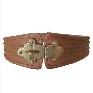 BCBG turn  lock belt
